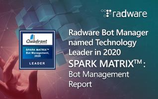 SPARK MATRIX™: Bot Management, 2020 Report